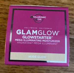 GLAMGLOW GLOWSTARTER Mega Illuminating Moisturizer Nude Glow 0.5 OZ / 15 ML NIB