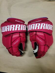 Dennis Cholowski Game Used Gloves Detroit Red Wings