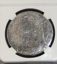 1777-1783 8 Reales Silver Coin 1784 El Cazador Shipwreck NGC Genuine Piece of 8