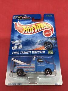1997 Hot Wheels Ford Transit Wrecker #620 NIP