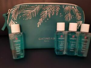 GATINEAU FLORACIL GENTLE EYE MAKE-UP REMOVER - 4 x 50ML  + GATINEAU BAG