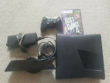 MICROSOFT XBOX 360 S 250GB CONSOLE WITH ALL CABLES CONTROLLER KINECT & Game