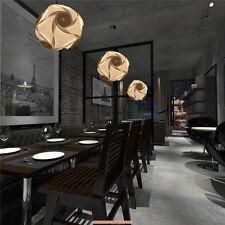 Room Deco 110V Modern White PVC Ceiling Light Pendant Lamp Fixture Chandelier