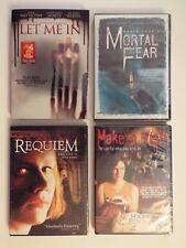 4 NEW DVD-lot-Requiem-Make a Wish-Let Me In-Mortal Fear-Horror-RARE