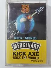 KICK AXE Rock The World MERC2103 Cassette Tape