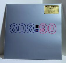 808 STATE Ninety 180g BLUE COLOR VINYL 2xLP Sealed NUMBERED Bonus Tracks 808:90