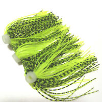 10pc Umbrella skirts DIY Buzzbaits Spinner Buzz Bait fishing Silicone skirt 108