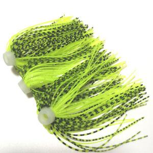 10pc Umbrella skirts DIY Buzzbaits Spinner Buzz Bait fishing Silicone skirt 108