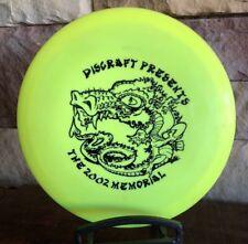 Oop Pfn Super Rare Discraft Cyclone 2002 Memorial Golf Disc, Yellow, 148g