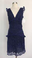 Anna Sui Purple Lace Dress Size 2 Butterflies