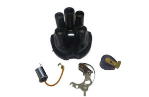 Distributor Cap Set suitable for Land Rover Series 2a 3 - 4 Cylinder to 1977