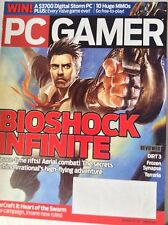 Pc Gamer Magazine Bioshock Infinite DiRT 3 September 2011 082217nonrh