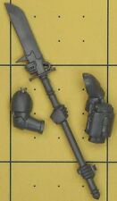 Warhammer 40K Space Marines Grey Knights Marine Nemesis Force Halberd (B)