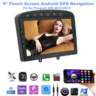 Fit for Peugeot 408 10-13 Android Navigation 9 inch Screen MP5 Bluetooth Player