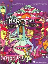 Maroon 5 Overexposed Songbook Piano Voice Guitar 2012 Payphone One More Night