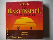 Spiel - DIE SIEDLER VON CATAN (Das Kartenspiel) Klaus Teuber [alte Ausgabe 1996]