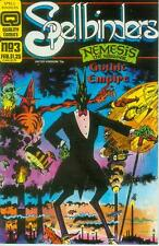 Spellbinders # 3 (Nemesis, Amadeus Wolf, Slaine,52 pg.)(Quality Comics USA,1987)