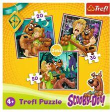 Scooby Doo Trefl 3 in 1 Puzzle