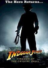 INDIANA JONES MOVIE POSTER ~ KINGDOM CRYSTAL SKULL SILHOUETTE 27x40 Ford Hero