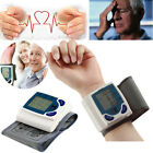 Digital LCD Wrist Blood Pressure Monitor With Heart Beat Rate Pulse Measure