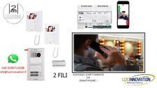 Kit videocitofono Bifamiliare urmet con rinvio chiamata al cellulare call me