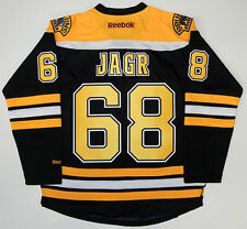 JAROMIR JAGR BOSTON BRUINS REEBOK PREMIER HOME JERSEY NEW WITH TAGS