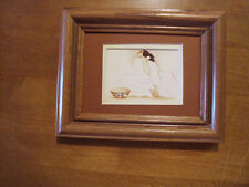 R C Gorman, ZIA, Navajo framed  matted print