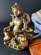 Old Brass Tibetan Padmasambhava Statue  …beautiful collection / display piece