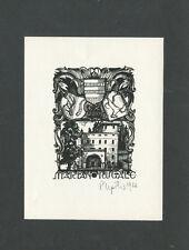 EXLIBRIS,229a, Peteris Upitis - Schloss Podvin