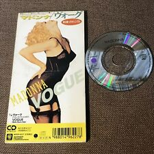"Madonna Vogue Japan 3"" CD Solo WPDP-6227 Unsnapped / sin Cerrar Gratis S&H / P&p"