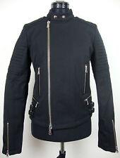 DIESEL BLACK GOLD WORIP GIACCA Jacket Damen Jacke Schwarz Gr.34-36 NEU ETIKETT