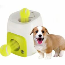 Auto Interactive Fetch Treat Dog Cat Pet Ball Toy Play Game Dispenser  G