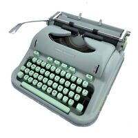 Restored 1960 Hermes 3000 Techno Typeface Typewriter 30-Day Money Back Guarantee
