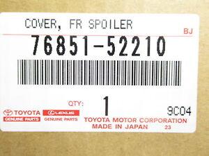 Genuine OEM Toyota 76851-52210 Front Lower Spoiler 2012-2014 Prius C