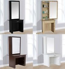 WestWood Dressing Table - Modern Wooden Makeup Table With Sliding Mirror DT04