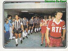 510 PSG – Atletico Mineiro 03-08-82 Tournoi de PARIS STICKER FOOTBALL 83 PANINI
