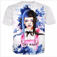 New Fashion Womens/Mens Melanie Martinez Funny 3D Print Casual T-Shirt