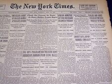1936 APRIL 11 NEW YORK TIMES - CALLES EXILED BY MEXICO - NT 4044