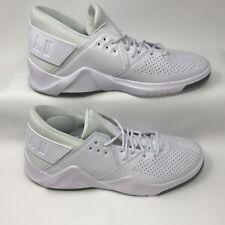 Nike Jordan AH6462-100 Men's Flight Fresh Premium Low Basketball White Size 12