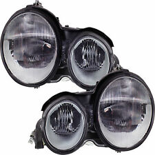 Headlight Set Mercedes E-Class (W210) 5.95-7.99 H7/H7 without Motor 1326802