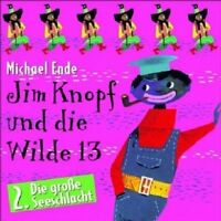 MICHAEL ENDE-JIM KNOPF UND DIE WILDE 13-TEIL 2; CD 10 TRACKS KINDERHÖRSPIEL NEU