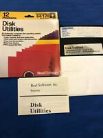 Commodore 64 128 Disk Utilities Real Software 12 Programs See Details