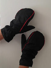 JL Golf Winter Mittens Walking Fishing Black Separate Fingers