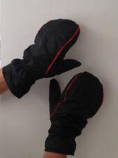 JL Golf Winter mittens walking fishing NEW  BLACK separate fingers