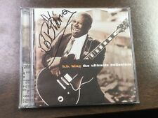 The Ultimate Collection by B.B. King (CD, Mar-2005, Geffen) - SIGNED!