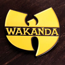 Black Panther Wakanda Wu-Tang Clan High Quality Exclusive Enamel Pin!