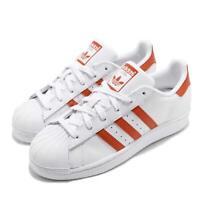 adidas Originals Superstar White Orange Men Classic Casual Shoes Sneakers G27807