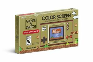 Game & Watch Super Mario Bros Nintendo 35th Anniversary In Stock Express Post