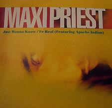 """Maxi Priest - Just Wanna Know / G+ / 12"""""""