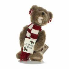 "New ListingBoyds Bears Friends Vintage 7.5"" Plush Christmas Carolling Bear Ear Muffs Scarf"
